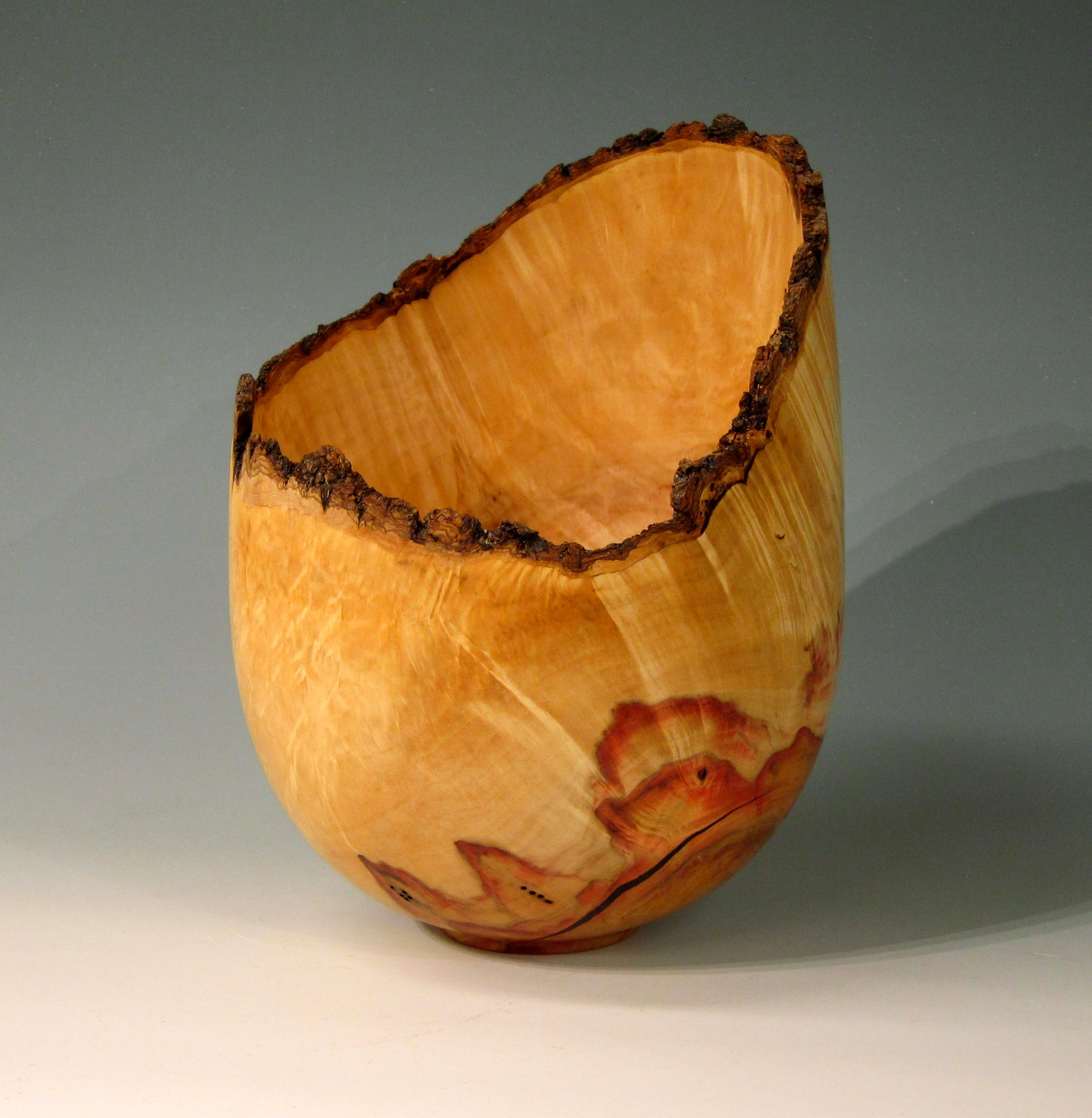 "Chris Boerner -- Box Elder Natural Edge, 9"" x 13"""
