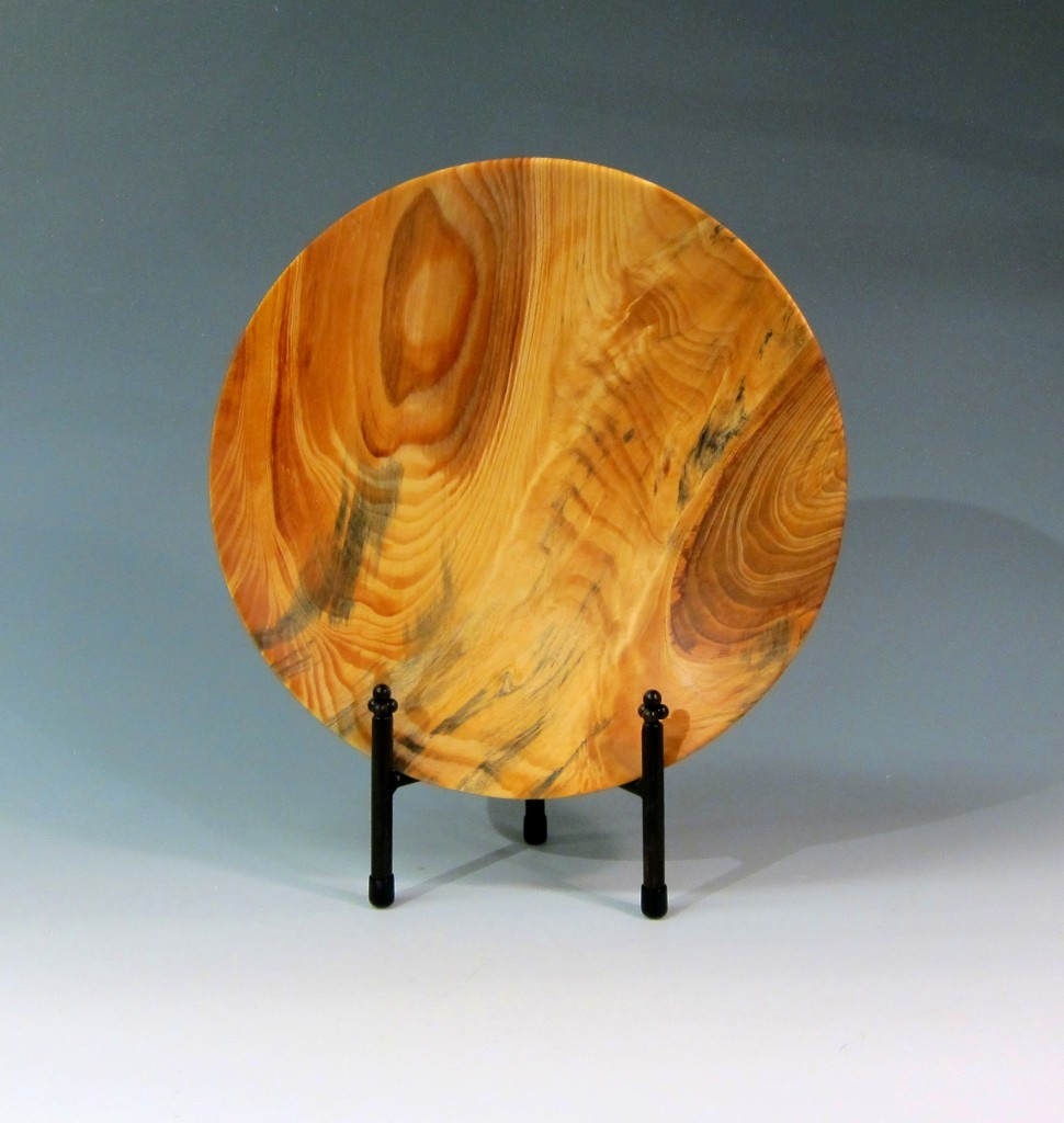 "Chris Boerner -- Pine from Duke Forest, 14"" x 2"""